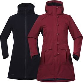 Bergans Bjerke 3in1 Jacket Women red/black